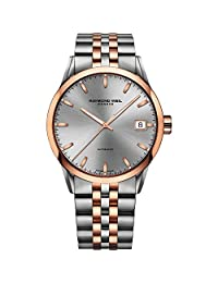 Raymond Weil Freelancer Automatic Grey Dial Two-tone Mens Watch 2740-SP5-60021