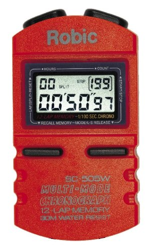 Robic SC 505W 12 Memory Stopwatch