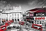 London Piccadilly Circus Photography Poster Print 24 by 36