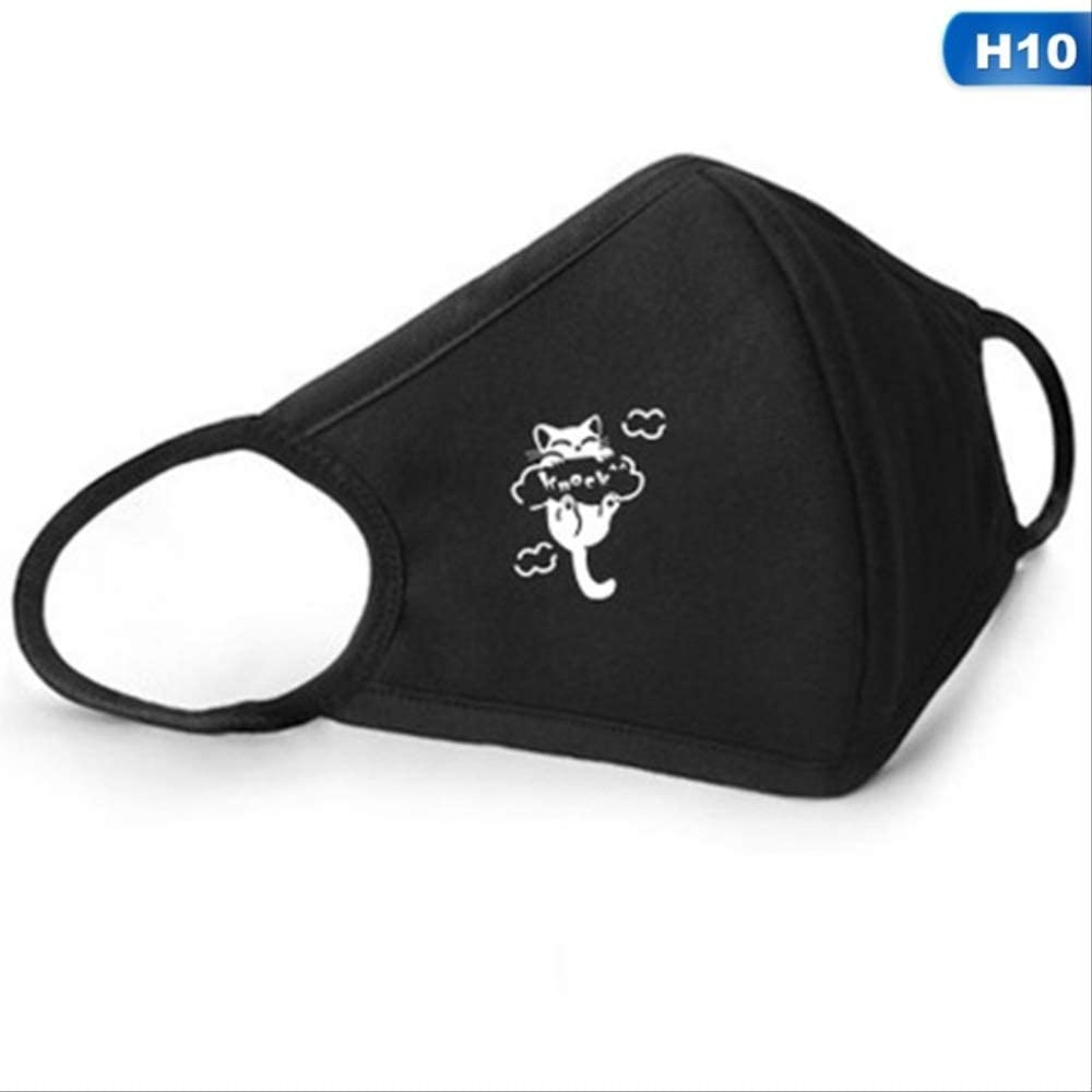 FSYX Mascarilla Anti-fog Máscara Transpirable Algodón Moda ...