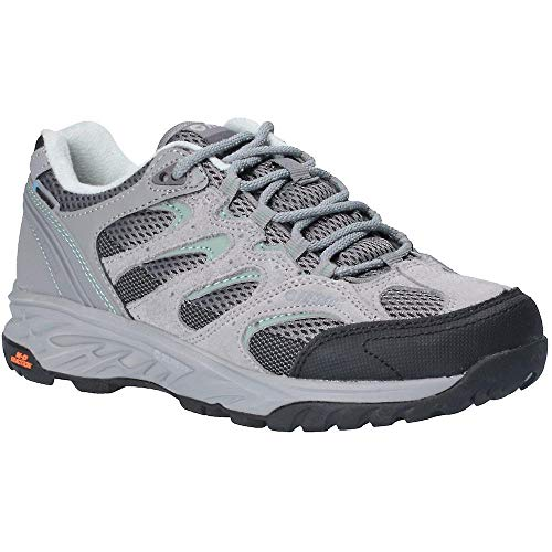- Hi-Tec Womens/Ladies Wild-Fire Low I Waterproof Walking Shoes (8 US) (Cool Gray/Graphite/Iceberg)