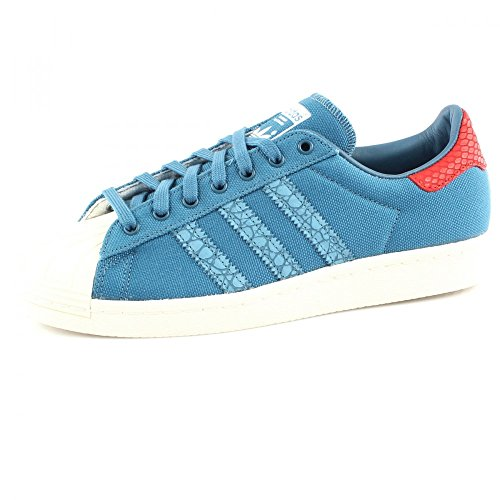 adidas Superstar 80s Animal Oddity Herren Sneaker blau - 10½