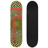 "Mtep Markiplier Skateboard Deck 7.5 X 31"""