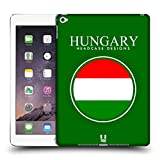 Head Case Designs Hungarian Flag Flag Patches Hard Back Case for Apple iPad Air 2