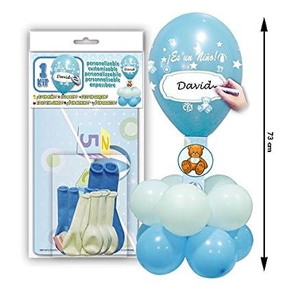 Centro De Mesa Para Decoraciones De Baby Shower Compuesto Por Globos