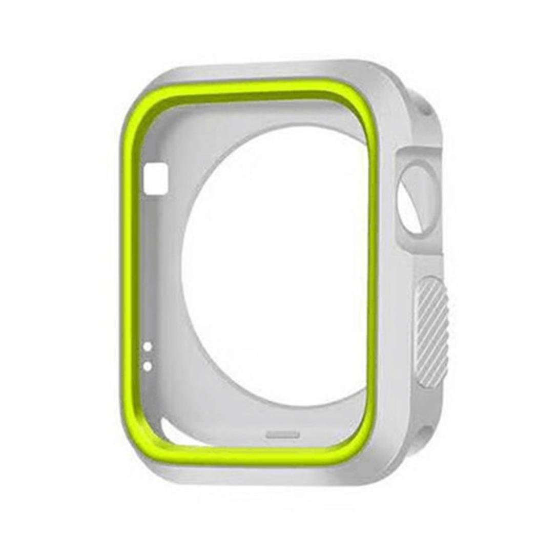 newkellyバンドfor Fitbit Versa、レザーバンド  グレー B07BWFX2KC