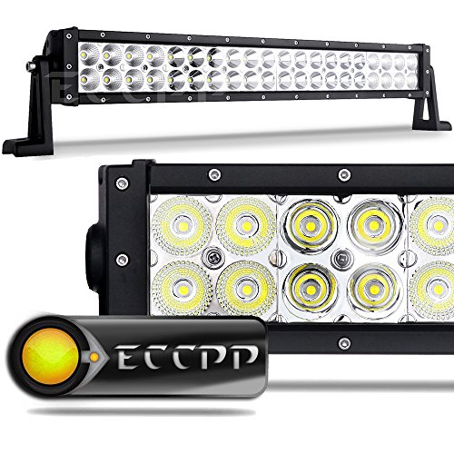 Led Light Bar,ECCPP 22 inch 120W Flood Spot Combo LED Work Light Drving Lights IP 67 Waterproof Off Road Lights Fog Lamp for SUV Ute ATV Truck 4x4 Boat