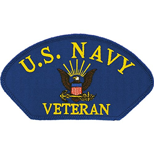 US Navy Veteran Logo Patch Military Gifts Patches for Jackets Hats Vests