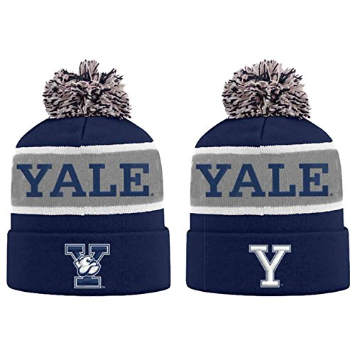 University Baseball Yale (Top of the World Yale Bulldogs Adult NCAA Radius Knit Beanie - Team Color,)