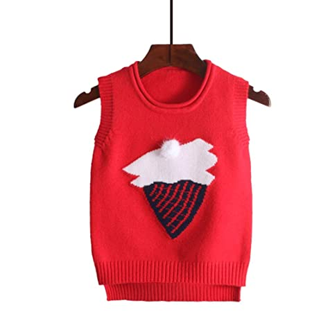 a61257f09498 MAJIA Children S Sweater Vest Knit Baby Hooded Wool Vest For Girls ...