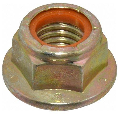 (5/8-11 UNC, Grade 8 Steel Hex Flange Lock Nut with Nylon Insert 1-5/16