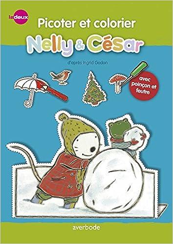 En ligne téléchargement Nelly & César, picoter et colorier epub pdf