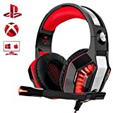 Beexcellent Gaming Headset for PS4 Xbox One