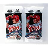 2018 Topps Series 1 Fat Pack Lot of 2 Packs (36 cards per pack)