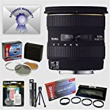 Sigma 10-20mm f/4-5.6 EX DC Wide Angle AF Lens & Filters & Close-Up Macro Set & 7 Year Warranty for Pentax SLR