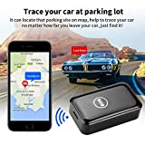 Dooreemee Free Mini Magnet GPS Tracker for Vehicle, Kids, Assets, Cars- Real-time Tracking Device with No Subscription fee