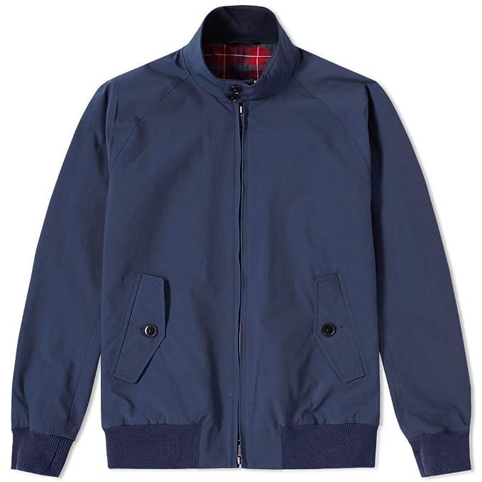 Baracuta - Giacca - Uomo blu 44  Amazon.it  Abbigliamento addd2ee8920