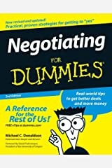 Negotiating For Dummies Kindle Edition