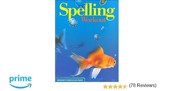 Amazon.com: SPELLING WORKOUT LEVEL B PUPIL EDITION (9780765224811 ...