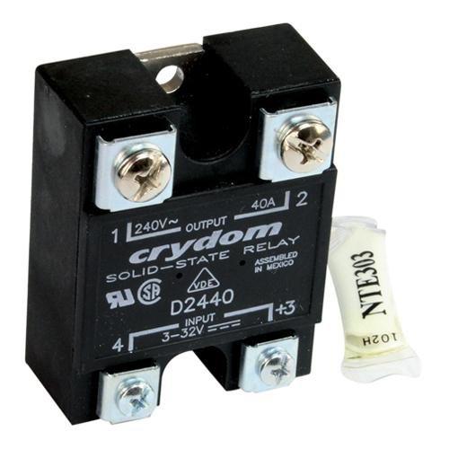 Frymaster 8261562 Relay W/Heat Sink Kit 240V 40Amp For Frymaster Biph14 Bire14 Ct16 H14 H17 441659 by Frymaster