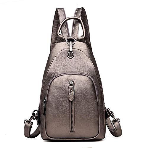 Ambiguity da a tracolla a Morbida Grande viaggio Borsa Donna multifunzione capacità Borsa tracolla Backpack Leather 21x9x33cm D xIrq8xA