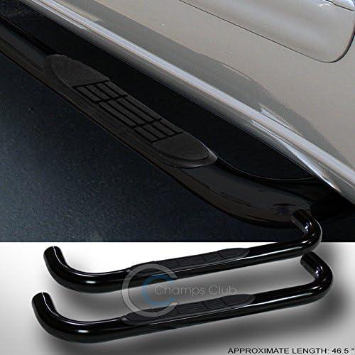 HS Power 3 HEAVYDUTY BLK Side Step NERF BAR Running Board 99-14 Silverado//Sierra REG CAB