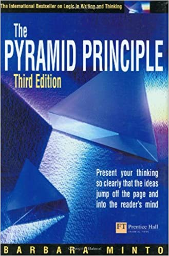 Descargar gratis Pyramid Principle: Present Your Thinking So Clearly That The Ideas Jump Off The Page And Into The Reader's Mind: Present Your Thinking So Clearly That ... Jump Off The Page And Into The Reader's Mind Epub