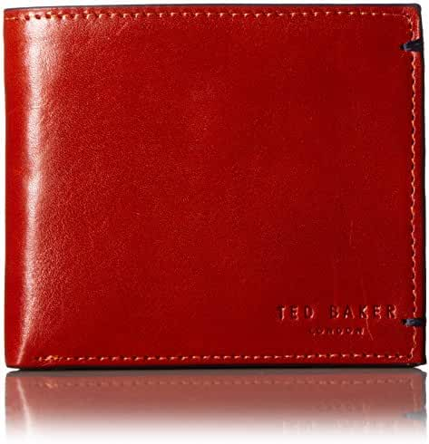 Ted Baker Men's Aunat Bifold Contrast Leather Wallet