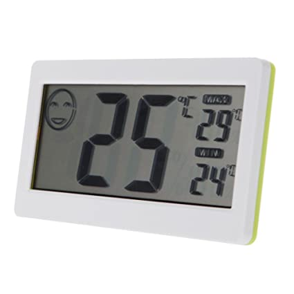"""3.3"""" LCD Mini Digital Thermometer Hygrometer Temperature Humidity Meter Electronic 2015 New Termometro Tester"""
