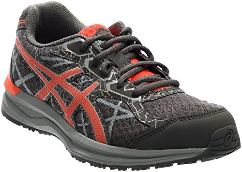 ASICS Women's Endurant Running Shoe, Carbon/Flash Coral/Silver, 7 M US