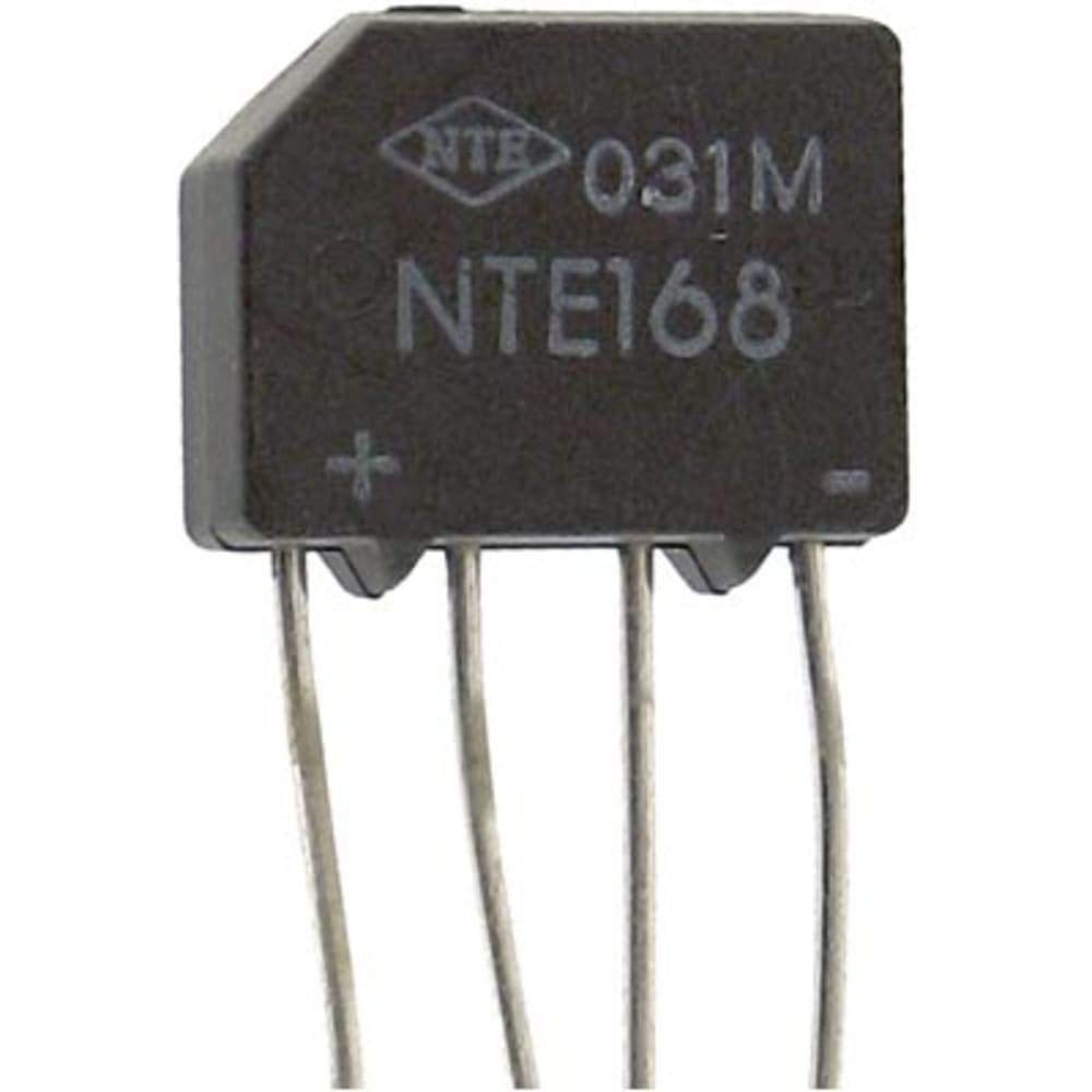 Diode; Bridge Rectifier; Vr 400V; If 2A; Config Single Phase; Vf 1.1V; I?T 15A?s - Pack of 20