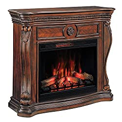 ClassicFlame 33WM881-C232 Lexington Wall Fireplace Mantel, Empire Cherry (Electric Fireplace sold separately) from Classic Flame