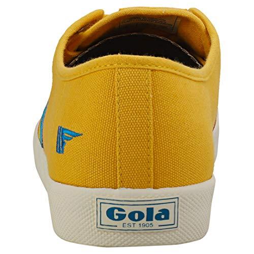 Amarillo Mujer multi Para sunh Yz Cla671 Gola Zapatillas qfWOwTIxS