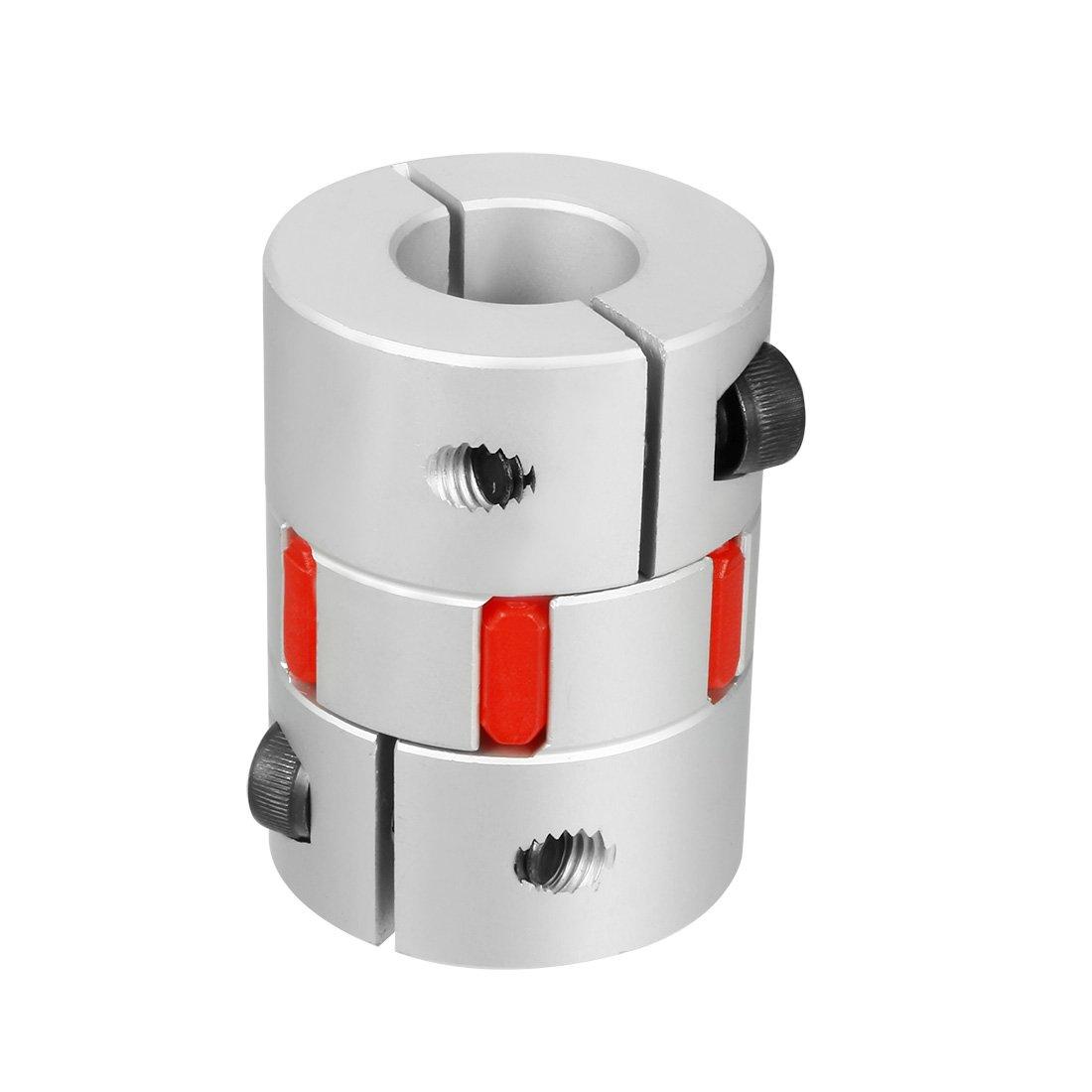 4pcs 8mm to 12mm Plum Shaft Coupling Aluminium Diameter 30mm Lengte 40mm
