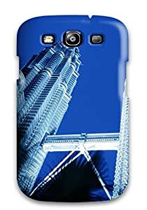 Fashion Tpu Case For Galaxy S3- Petronas Towers Skyscrapers In Kuala Lumpur Defender Case Cover