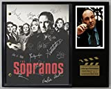 #1: THE SOPRANOS LTD EDITION REPRODUCTION SIGNED TELEVISION SCRIPT DISPLAY