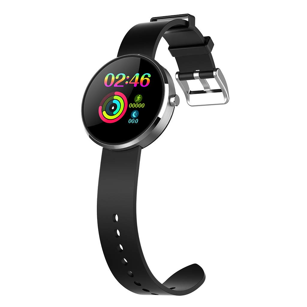 YNAA for Android iOS, Sport Smart Watch, Fitness Calorie Heart Rate Monitoring Physiological Cycle Reminder Smart Bracelet (D) by YNAA (Image #3)
