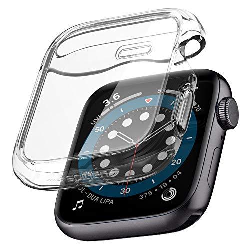Spigen Ultra Hybrid Designed for Apple Watch Case for 44mm Series 6 / SE / 5/4 - Crystal Clear