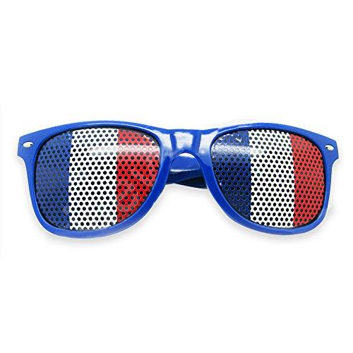 Banderas de de diseño Sol para Gafas Nacionales Italia los Fans de para Adultos patriótico de Bandera Estilo Gafas de clásico Eyewear de Sol gC6nRdC4