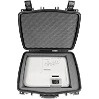 CASEMATIX ELITE Protective Projector Carry Case For New Epson PowerLite 2245U , 5520W , 2155W , 2245U , 2250U , 2255U , 2250U , 2040 , 2155W , 2250U , 2265U , 5510 , 2265U , 2040 , 5530U , 2065