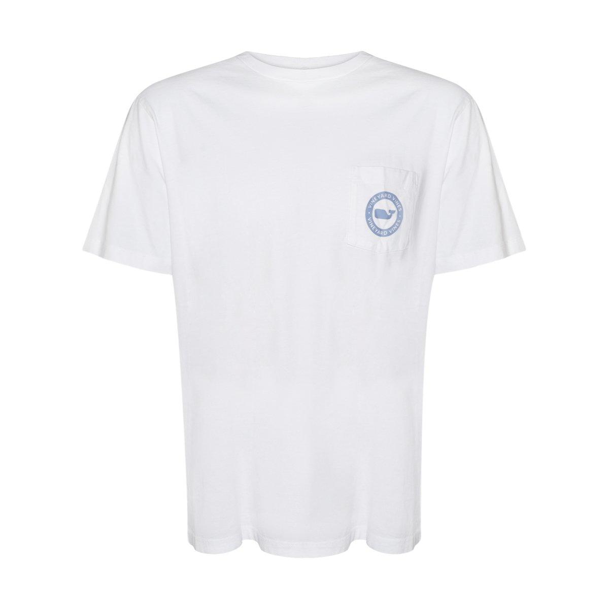 Vineyard Vinesメンズ半袖City Whale Teeシャツ B07581N25M X-Small|White Cap/Whale Dot White Cap/Whale Dot X-Small