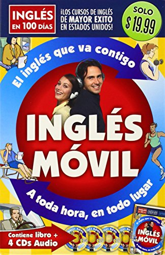 Ingles Movil / Portable English (Ingles En 100 Dias) (Spanish - Book Portable Speaker