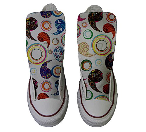 Converse All Star personalisierte Schuhe (Custom Produkt) Happy Paisley