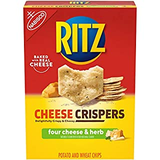 RITZ Cheese Crispers Four Cheese and Herb Chips, 7 oz