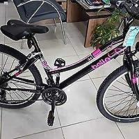 Bianchi Bisiklet Bella 24 Jant Bisiklet 360H 21 Vites Siyah Fuşya Unisex, Siyah, Standart