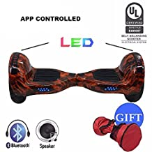 """ProZip.ca Self Balancing Scooter Hover Self-Balance Board - UL2272 Certified, All-Terrain 10"""" Inflateable Wheel, 700Watts, UL2271 Battery, Hover Through Tough Road …"""