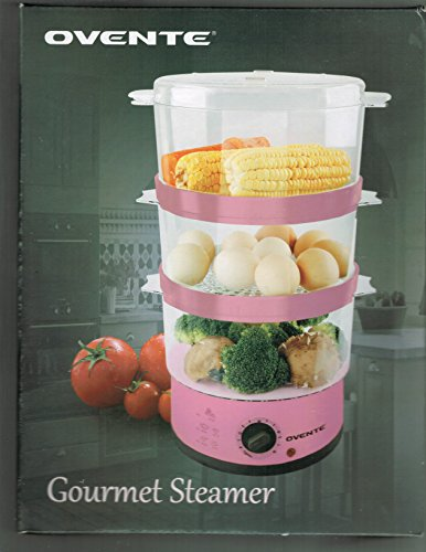 Ovente Gourmet Electric Food Steamer - Pink