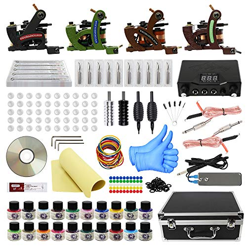 Compare price starters tattoo kit on for Pirate face grinder tattoo kit