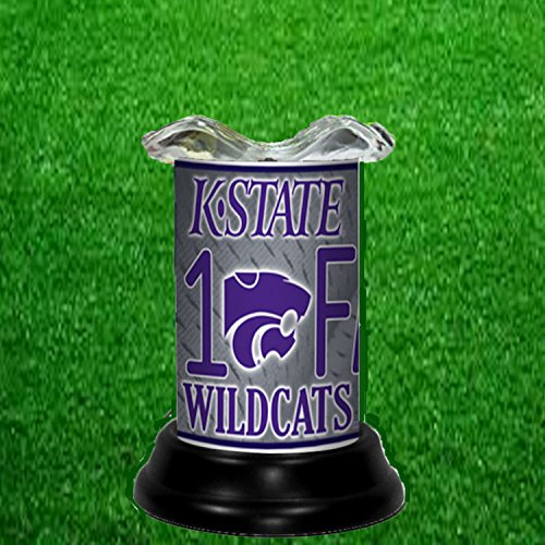 S NCAA TART WARMER - FRAGRANCE LAMP - BY TAGZ SPORTS (Kansas State Wildcats Lamp)