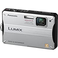 Panasonic Lumix DMC-TS10 14.1 MP Digital Camera with 4x Optical Image Stabilized Zoom and 2.7-Inch LCD (Silver) Noticeable Review Image